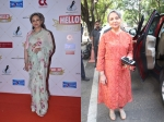 Floral Sari Or Vibrant Suit: Which Ethnic Look Of Sharmila Tagore's Was More Wow-worthy?