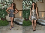 Tara Sutaria And Ananya Panday Made A Strong Case For Metallic Textured Dresses
