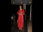 Tabu's Red Dress Is An OOTN And Perfect For A Glittering Soirée