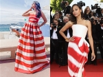 After Zoe Saldana at Cannes 2011, Aishwarya Also Gives Us A Candy Cane Dress Moment At Cannes
