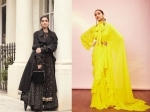 Deepika & Sonam Made Colourful Splashes In Their Sabyasachi Outfits