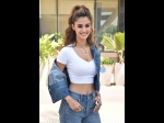 Disha Patani's Sassy On-duty Look Is About Denims And Chic Neckpiece