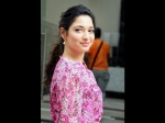 A Pink Floral Dress Is A Must-wear For A Date, Proves Tamannaah Bhatia