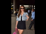 Of Denim & LBD, Kriti Kharbanda Looks Sassy In Her Latest Airport Outfit