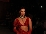 Kiara Advani Gives Us A Jaw-dropping Moment With Her Red Lehenga At FDCI India Couture Week 2019