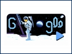 Google Celebrates NASA's Apollo 11 Anniversary With Astronaut Michael Collin's Voice in a Doodle
