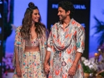 LFW W/F 2019 Day One: Farhan Akhtar And Shibani Dandekar Make A Vibrant Floral Splash