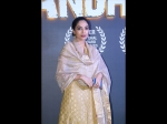 Sobhita Dhulipala Brings Desi Vibes With Her Yellow Outfit At The Andhadhun's Celebrations