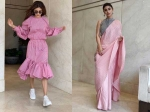 Naagin Actress Mouni Roy Kills Our Monday Blues With Her Gorgeous Pink Outfits