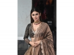 Mouni Roy Gives An Ethnic Wear Goal To Ladies Who Want To Play With The Colour Brown