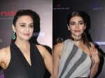 Preity Zinta And Karishma Tanna Glam Up In Stunning Outfits For Golden Glory Awards 2019