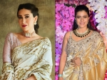 Be Ethnic Ready With These Bollywood Divas-inspired Stunning Golden-Silver Saris