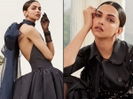 Deepika Padukone Impresses With Her Dramatic Black Outfits For Harper's Bazaar US Covershoot