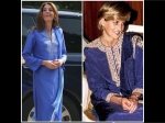 Kate Middleton's Exquisite Traditional Blue Suit Make Us Think Of Princess Diana