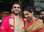 Deepika Padukone And Ranveer Singh Look Traditional Perfect On Their First Anniversary