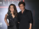 Shah Rukh Khan And Gauri Khan Make A Twinning Entry With Their Stylish Outfits