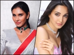 Kiara Advani In Pink Or Lisa Ray In Grey, Whose Sari Look Did You Like More?