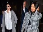 Deepika Padukone And Priyanka Chopra Jonas' Checkered Outfits Can Totally Keep You Warm
