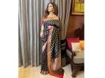 Raveena Tandon's Tichu Weave Sari Is For Those Looking Forward To Attending Weddings In Winters