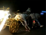 Men On Bike Chase Runaway Horse Carriage Only To Meet With A Cringe-Worthy Fate