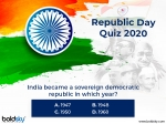 71st Republic Day 2020: Let Us Test Your Knowledge About India