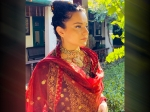 Kangana Ranaut's Elaborate Kurta Set Is Perfect For Cousin's Engagement Ceremony