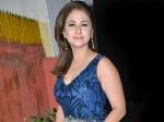 Urmila Matondkar Impresses With Her Blue Bodycon Gown At Javed Akhtar's Birthday Bash