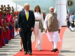 Melania Trump And Ivanka Trump Look Their Fashionable Best As They Arrive In India