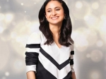 Rasika Dugal Exudes Retro Vibes In A Simple And Sober Black And White Kurta Set