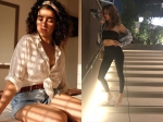 Sanya Malhotra And Anusha Dandekar Have Cute And Sporty Fashion Goals For Us