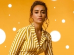 Qubool Hai Actress Surbhi Jyoti Rocks Her Yellow Striped Jumpsuit And It's A Perfect Office-Wear