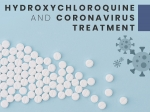 Hydroxychloroquine And Coronavirus: How Is It Linked?