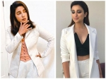 Chopra Sisters, Priyanka And Parineeti In White Pantsuit, Who Gave Better Formal Fashion Goals?