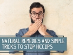 Natural Remedies And Simple Tricks To Stop Hiccups