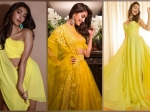 Radhe Shyam Actress Pooja Hegde Sure Knows How To Make A Yellow Splash With Her Outfits