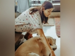 Anushka Sharma Gives Us A Soothing PJ Set Goal As She Plays With Her Cute Dog
