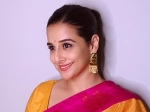 On National Handloom Day 2020, Vidya Balan Gives Us Handloom Goal With A Pretty Mustard Saree