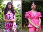 Sanjana Sanghi's Stylish Pink Suits Will Have You Thinking About Pink Outfits