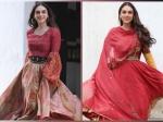 Aditi Rao Hydari's Ethnic And Indo-Western Beautiful Red Ensembles Are Ideal For Navaratri 2020