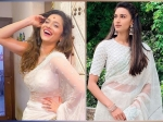 Ankita Lokhande Or Erica Fernandes, Whose White Saree Is Prettier And Who Pulled It Off Better?