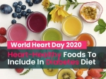 World Heart Day 2020: Best Foods To Prevent The Risk Of Heart Diseases In Diabetics