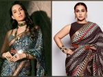 Vidya Balan Or Nora Fatehi, Who Pulled Off JJ Valaya's Printed Belted Saree Better?