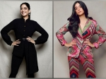 A Suitable Boy Actress Tanya Maniktala's Black And Multicolour Suits To Add To Your Office Wardrobe
