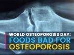 World Osteoporosis Day 2020: What Foods Are Bad For Osteoporosis