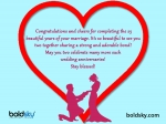 25th Wedding Anniversary? Quotes, Wishes And Images For Couples
