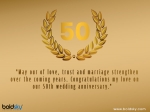 Quotes, Wishes And Messages To Share On 50th Wedding Anniversary