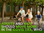 Kids And Adults Must Exercise During This COVID-19 Era, WHO Campaign
