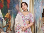 Durgamati Promotions: Bhumi Pednekar Blossoms In A Wedding-Perfect Pink Floral Lehenga