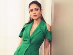 Nushrat Bharucha Exudes Eco-Friendly And Boss Lady Vibes In Her Green Pantsuit And We Loved It!
