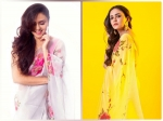Amruta Khanvilkar Makes Us Want To Drape A Floral Saree; Check Out Her Hand-Painted Saree